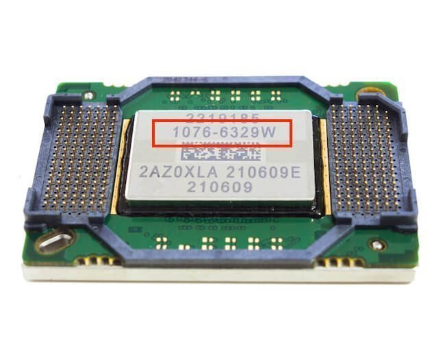 Projector DMD chip part number example
